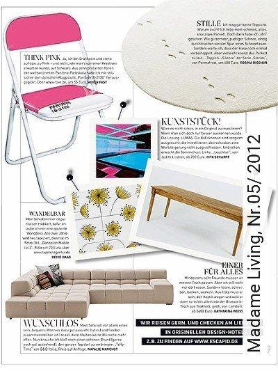Bild: News - Madame Living, Nr.05/ 2012