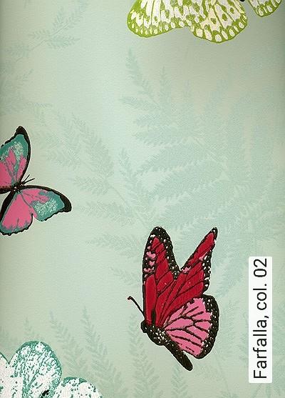 Bild: Tapeten - Farfalla, col. 02