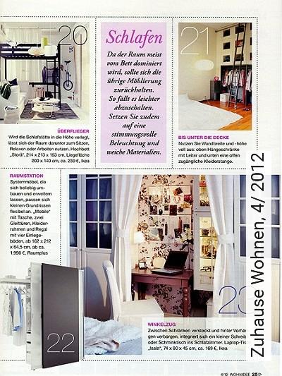 Bild: News - Zuhause Wohnen, 4/ 2012