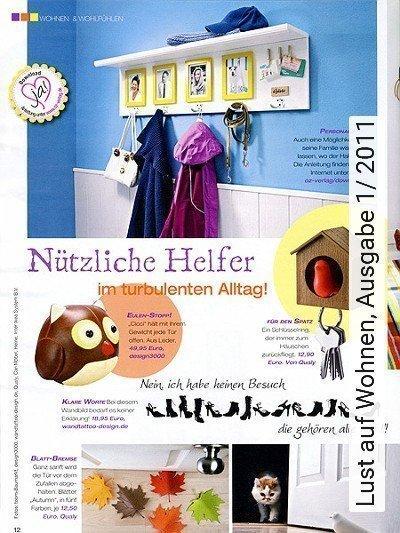 Bild: News - Lust auf Wohnen, Ausgabe 1/ 2011