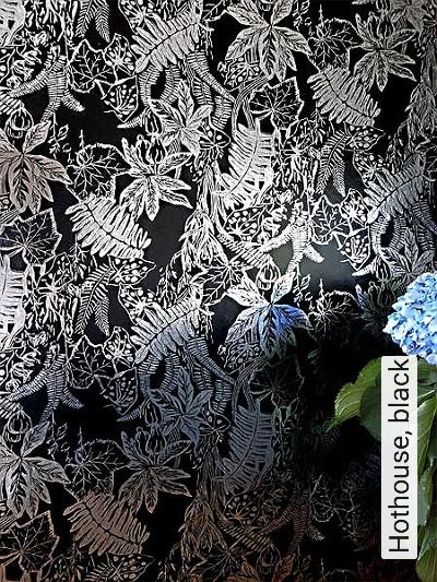 Bild: Tapeten - Hothouse, black