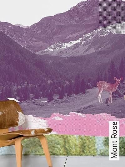 Bild: Tapeten - Mont Rose