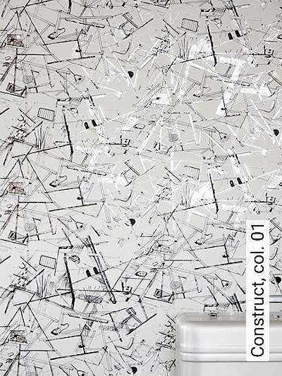 Bild: Tapeten - Construct, col. 01