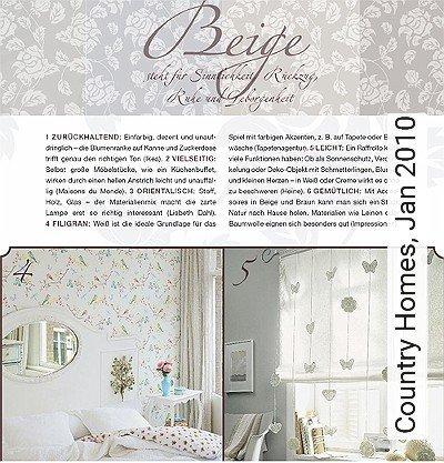 Bild: News - Country Homes, Jan 2010