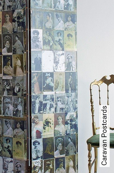 Bild: Tapeten - Caravan Postcards
