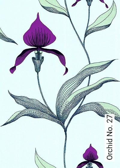 Bild: Tapeten - Orchid No. 27