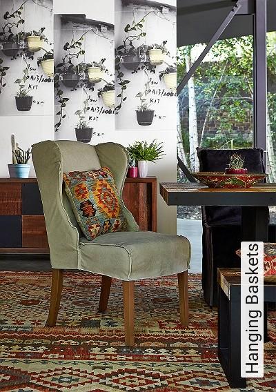 Bild: Tapeten - Hanging Baskets