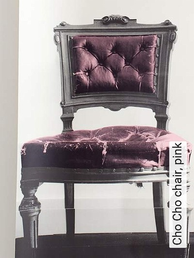 Bild: Tapeten - Cho Cho chair, pink