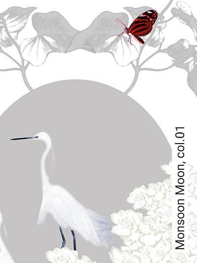 Bild: Tapeten - Monsoon Moon, col.01