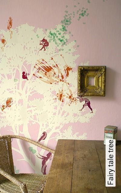 Bild: Tapeten - Fairy tale tree