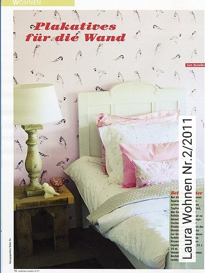 Bild: News - Laura Wohnen Nr.2/2011