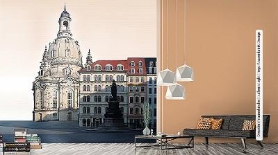 Tapeten Dresden tapete dresden frauenkirche luthers light ingo krasenbrink