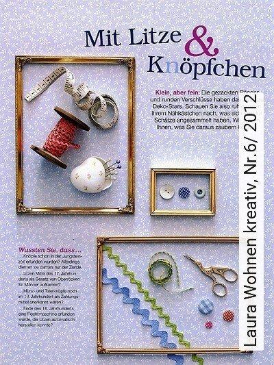Bild: News - Laura Wohnen kreativ, Nr.6/ 2012