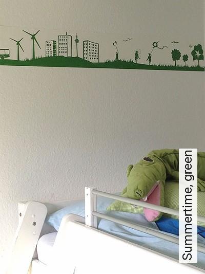 Bild: Tapeten - Summertime, green