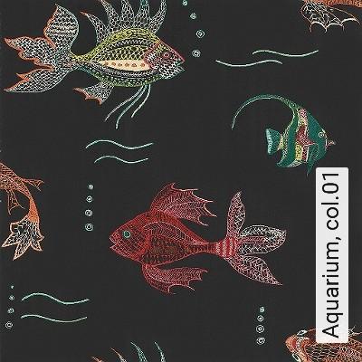 Bild: Tapeten - Aquarium, col.01