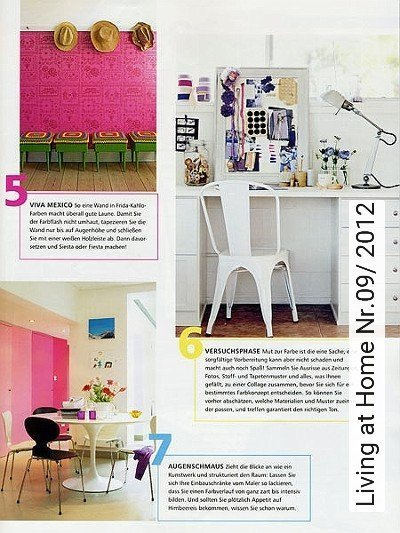 Bild: News - Living at Home Nr.09/ 2012