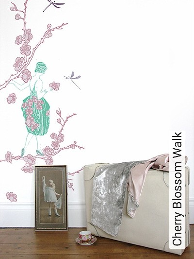 Bild: Tapeten - Cherry Blossom Walk