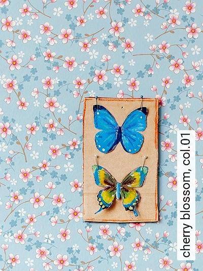 Bild: Tapeten - cherry blossom, col.01