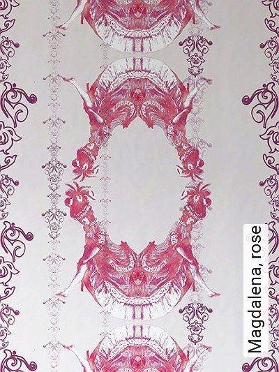 Bild: Tapeten - Magdalena, rose