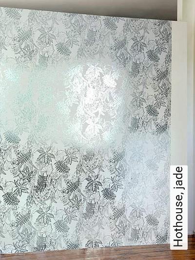 Bild: Tapeten - Hothouse, jade