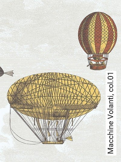 Bild: Tapeten - Macchine Volanti, col.01