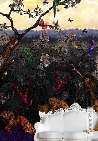 Bild Tapete - Purpura Vallis