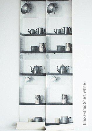 Bild Tapete - Bric-a-Brac Shelf, white